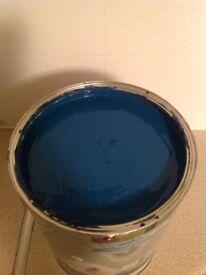 Unused Blue Paint