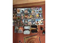 PSP with games bundle