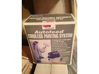 Auto feed cordless painting system