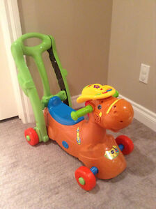 Vtech 3 in 1 ride on horse