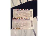 2 x Bristol City V Preston North End Tickets