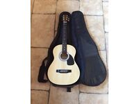 Beginners Falcon Acoustic Guitar and Case