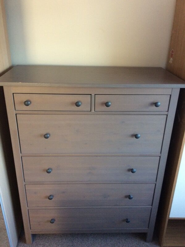 Ikea HEMNES 6 Drawer Chest of Drawers Grey Wood in Castlereagh, Belfast Gumtree