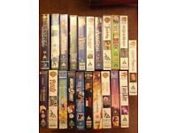 Assortment of 21 classic videos VHS