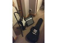 Electric Guitar Gear4Music Starter Setup