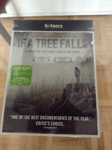 Environmental Doc - If a Tree Falls DVD – New in Sealed Package