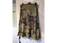 Phase Eight silk skirt