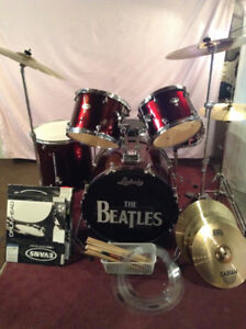 Mapex  Tornado drum set with upgrades