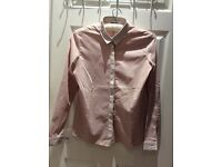 GAP 2 shades of Blush Smart Shirt 12UK