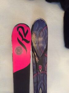 K2 WOMEN's SUPERFREE SKIS 139mm & Bindings