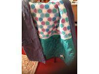 Cosy 13/14 girls padded coat Mini Boden