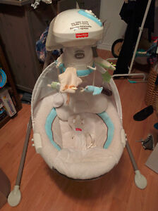 Balançoire-berceau (Balancelle) Fisher-Price Cradle'n Swing