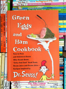 ▀▄▀Dr. Seuss Book~GREEN EGGS AND HAM COOKBOOK