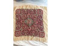 Vintage silk hankerchief or neck scarf