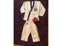 Ju-Jitsu kit and red belt
