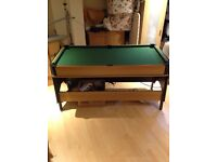240v foldable air hockey/pool/snooker table