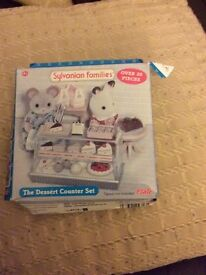 Sylvanian families The Dessert Counter Set