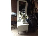Beautiful old mirror with large drawer