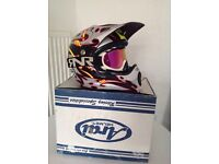 Arai vx pro motocross helmet & goggles