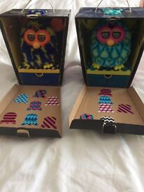 Two furby booms