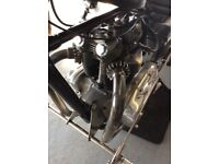 Vintage Custom Triumph T120 650cc 1967 Hard Tail Chopper Not Harley Davidson Bobber