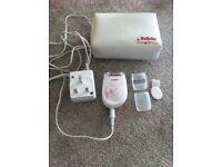 Free moisturiser 500g with Epilator £ 8