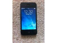Iphone 4 black 8gb on EE network
