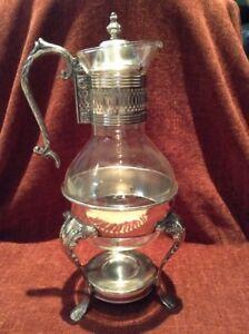 Vintage Silver Coffee Carafe