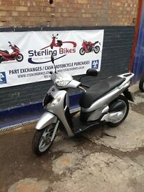 HONDA SH SH125 2008 LOW MILEAGE 1 YEAR MOT - STERLING