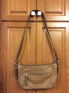 Leather Coach Crossbody purse