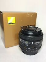 Nikon 50mm 1.4d prime lens **New Price**