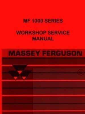 Massey Ferguson Mf1010 1020 1030 1040 Service Manual