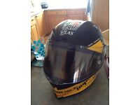 Agv Pista corsa Guy Martin with 3 extra visors and pinlock