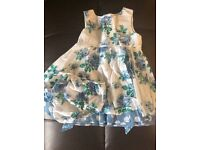 Monsoon girls 18-24 month dress with matching knickers