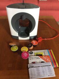Nescafe Dolce Gusto Oblo Coffee Machine.