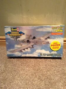 Model aircraft Snaptite: A-10 Warthog -NEVER OPENED