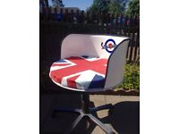Vespa Oil Drum Chair Recycled Mancave