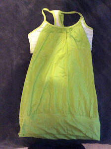 Lululemon Women's Tanks and Shorts Size 6 EUC