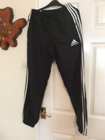 Adidas trackie bottoms