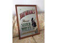 Mirror, Dewars Scotch Whisky