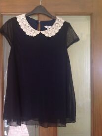 6 Summer tops sizes 8-10 lot1