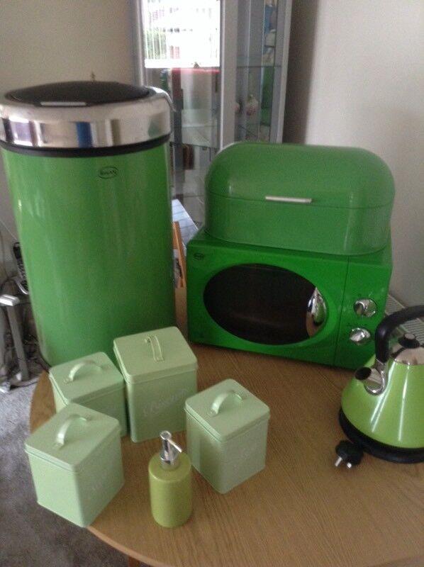 Microwave kettle breadbin +