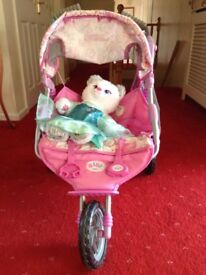Pushchair & Build a Bear