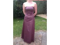 Lovely Debenhams Debut bridesmaid prom dress size 8