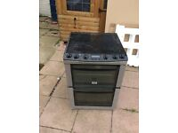 Eletric cooker with double oven
