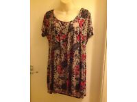 Women's Multicoloured Top - New with tag - UK size 26/28