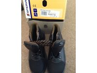 Brand new in box steel toe cap Bacou Innovation safety boots size 4 / 37