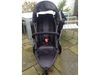 Phil and Teds Pram and baby cot