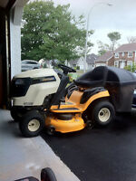 Lawn Tractor with Bagger