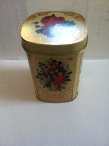 Vintage Metal Tea Container Kitchener / Waterloo Kitchener Area image 2